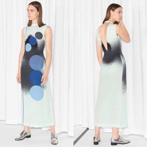 & Other Stories Gradient Silk Dress